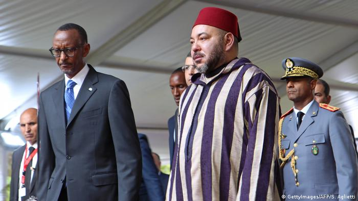 Ruanda Paul Kagame und Mohammed VI (GettyImages/AFP/S. Aglietti)