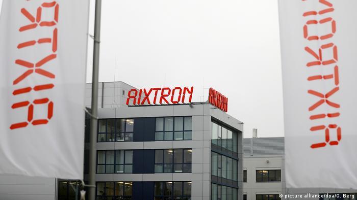 Deutschland Firmensitz des Spezialmaschinenherstellers Aixtron (picture alliance/dpa/O. Berg)
