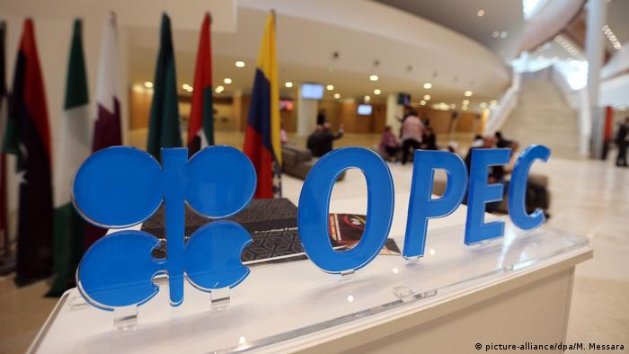 Algerien OPEC Logo (picture-alliance/dpa/M. Messara)