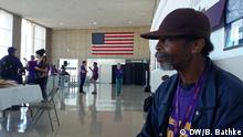 USA Ronald Reagan National Airport worker Charles Wells