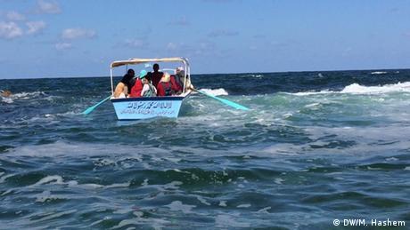 Ägypten | Rickety boat (DW/M. Hashem)