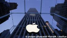 Apple Geschäft (picture alliance/AP Photo/M. Lennihan)