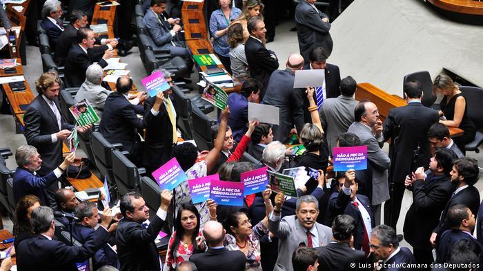 Brasilien Abgeordnetenhaus Sitzung