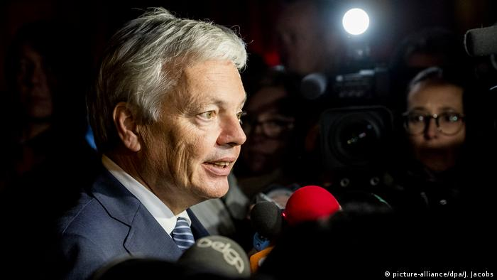 Belgien Didier Reynders (picture-alliance/dpa/J. Jacobs)