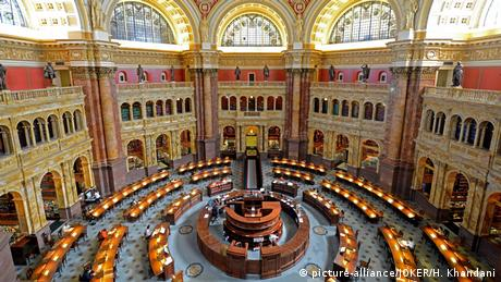 The Library of Congress in Washington, D. C (picture-alliance/JOKER/H. Khandani)