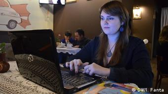 Yulia Melnyk ukrainische Eco-Aktivistin