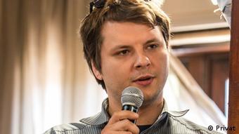 Mazedonien Skopje Jovan Bliznakovski - Wissenschaftlicher Mitarbeiter am Institut für Demokratie