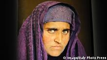 KULTUR Steve McCurry Ausstellung in Forli / AlbanoxVenturini / - Sharbat Gula la ragazza afgana - fotografata nel 2002 PUBLICATIONxNOTxINxITA 0 Culture Steve McCurry Exhibition in Forli Gula La Ragazza Nel 2002 PublicationxNotxInxITA 0