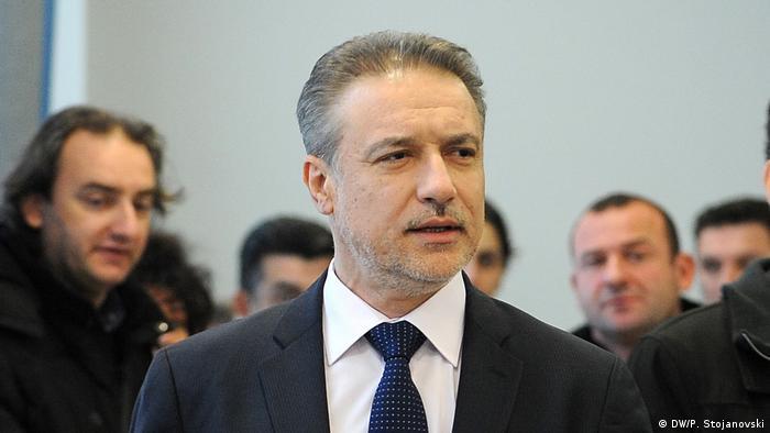 Mazedonien Branko Crvenkovski Ehemaliger Präsident der Republik Mazedonien