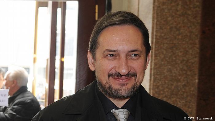 Mazedonien Ljubco Georgievski Präsident der VMRO-NP-Partei