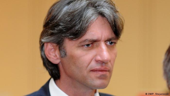 Mazedonien Zijadin Sela Präident der DPA Neue Partei