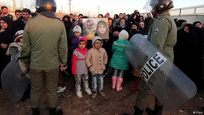Iran Kinder bei öffentlichen Hinrichtungen