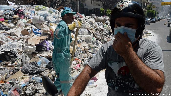 Müllbeseitigung Beirut (picture-alliance/dpa/W. Hamzeh)