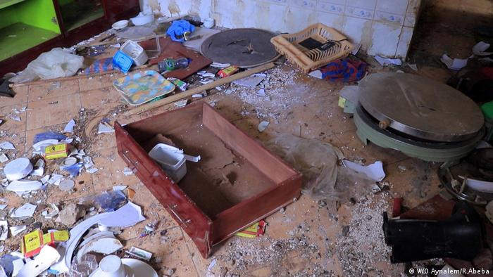 A Gedeo property which has been trashed in the violence (W/O Aynalem/R.Abeba)