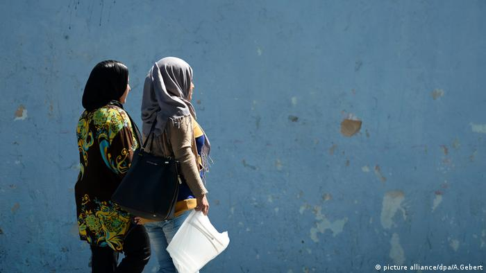 Frauen in Tunesien Innenstadt von Sousse