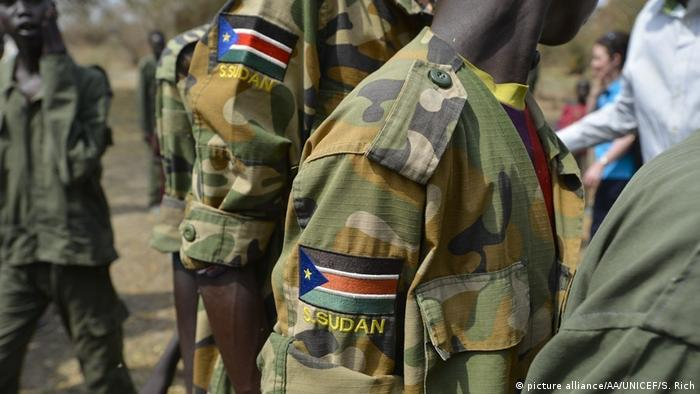 Südsudan Kindersoldaten (picture alliance/AA/UNICEF/S. Rich)