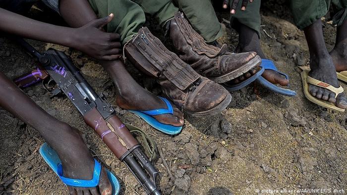 Südsudan Kindersoldaten
