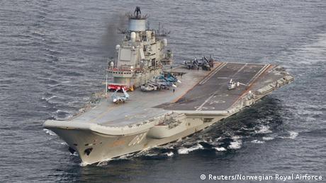 Moskau zieht Anfrage zur Betankung von Kriegsschiffen in Ceuta zurück (Reuters/Norwegian Royal Airforce)