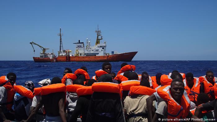 Medecins Sans Frontieres Europa Seenotrettung