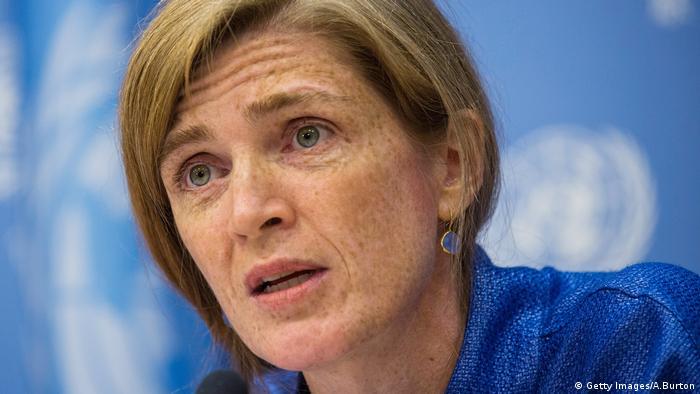 UN Botschafterin Samantha Power