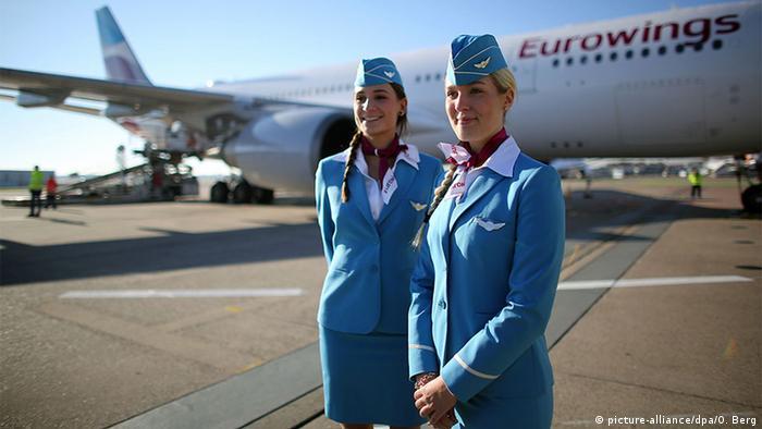 Eurowings Stewardessen