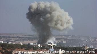 Syrien Kinder und Lehrern bei Luftangriff getötet