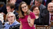 Kanada CETA Außenwirstschaftsministerin Chrystia Freeland