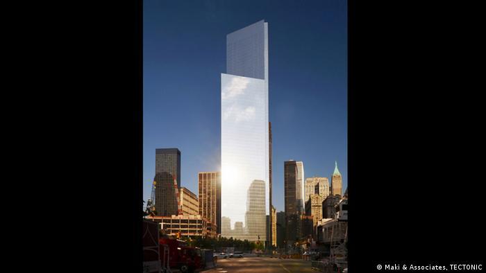Four World Trade Center in New York City (Photo: Maki & Associates, TECTONIC)