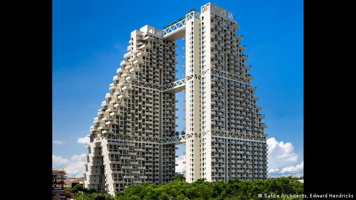 Sky Habitat by Moshe Safdie in Singapore (Photo: Safdie Architects, Edward Hendricks)