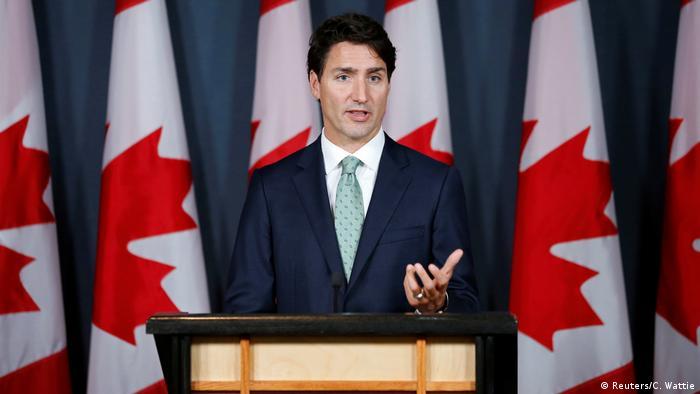 Kanada PK Justin Trudeau (Reuters/C. Wattie)