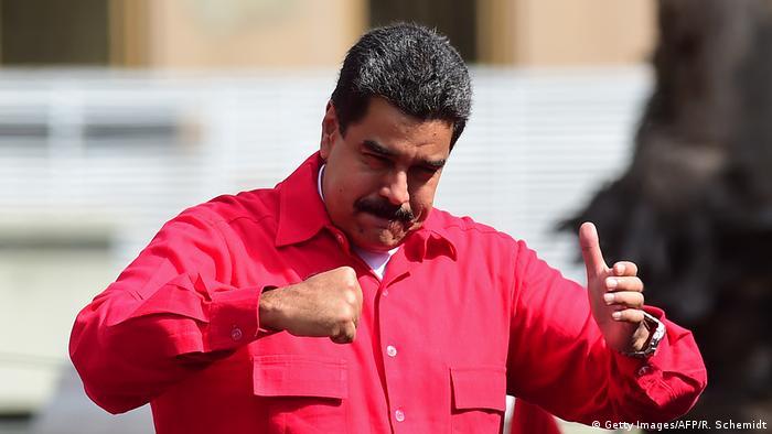Venezuela Nicolas Maduro (Getty Images/AFP/R. Schemidt)