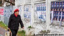 Moldau Wahlen Plakate