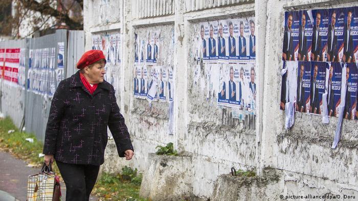 Передвиборна агітація у Молдові