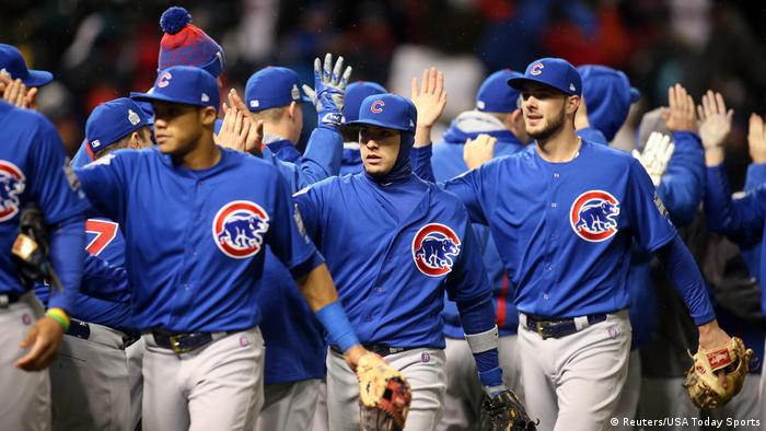 USA Baseball World Series Chicago Cubs vs. Cleveland Indians (Reuters/USA Today Sports)