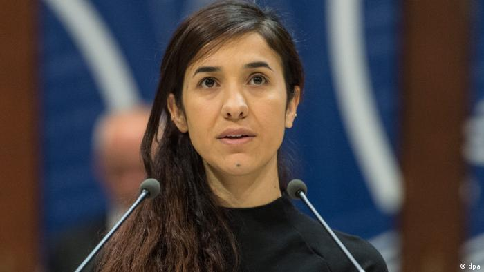Nadia Murad Nadia Murad Sacharow-Preis des Europaparlaments