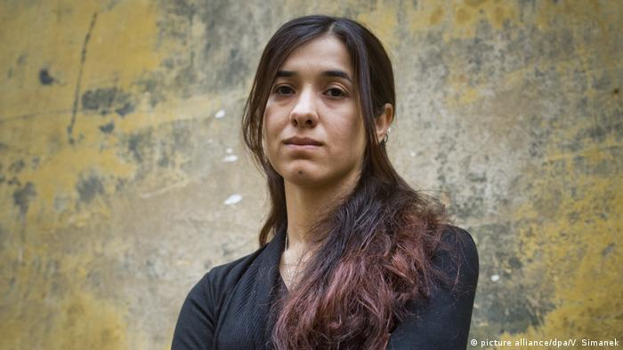 Nadia Murad Sacharow-Preis des Europaparlaments (picture alliance/dpa/V. Simanek)