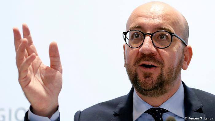 Brüssel PK Charles Michel Premierminister Belgien (Reuters/F. Lenoir)