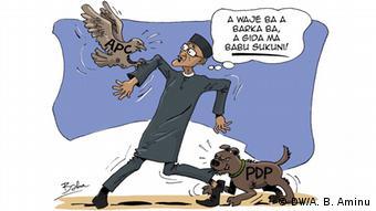 Kartoon Nigeria APC Crisis