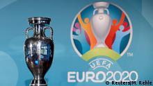 Fußball UEFA Euro 2020 Logo Vorstellung