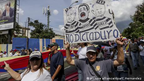 Опозиція у Венесуелі скасувала марш протесту