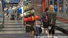 Interrail Reisende