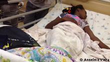 26.10.2016, Lubango, Angola Die Patienten müssen sich selbst um das Essen während deren Krankenhausaufenthalt kümmern.