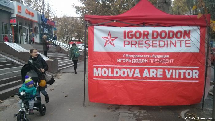 Wahlkampagne in Moldau