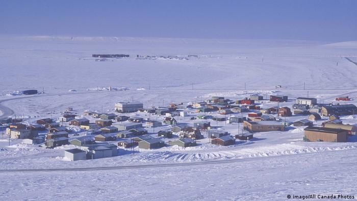 Assentamento Ártico no Canadá
