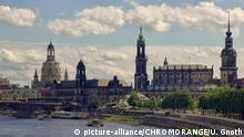 Deutschland | Canaletto-Blick ähnliche Panorama-Sicht auf den historischen Altstadtkern