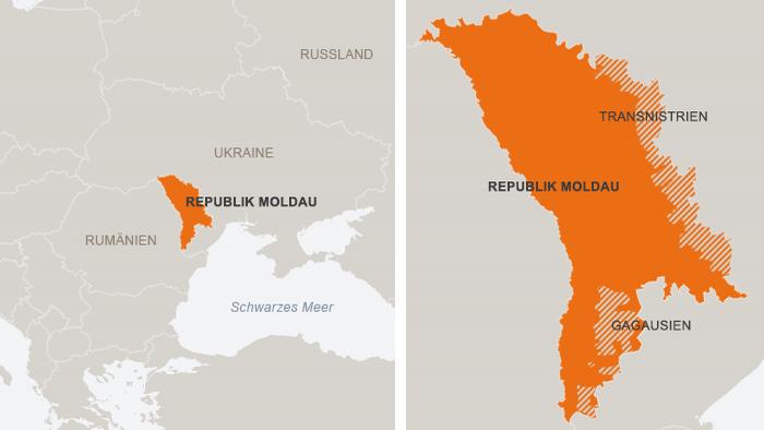DW Infografik Moldau Transnistrien Gagausien DEUTSCH