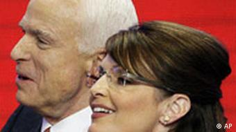 USA Republikaner Nominierungsparteitag in St. Paul John McCain und Sarah Palin