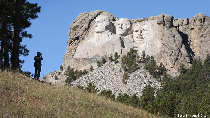 Mount Rushmore (Getty Images/S.Olson)