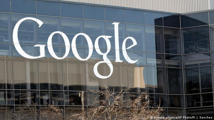 USA Google Hauptsitz in Mountain View, Kalifornien (picture-alliance/AP Photo/M. J. Sanchez)