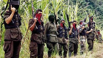Kolumbien Guerrilleros der ELN